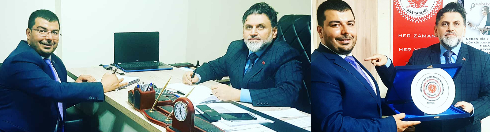 Tosyak – Tüyaş Yönetim Kurulu Başkanı Zeynel Elçik Markalize'yi Ziyaret Etti