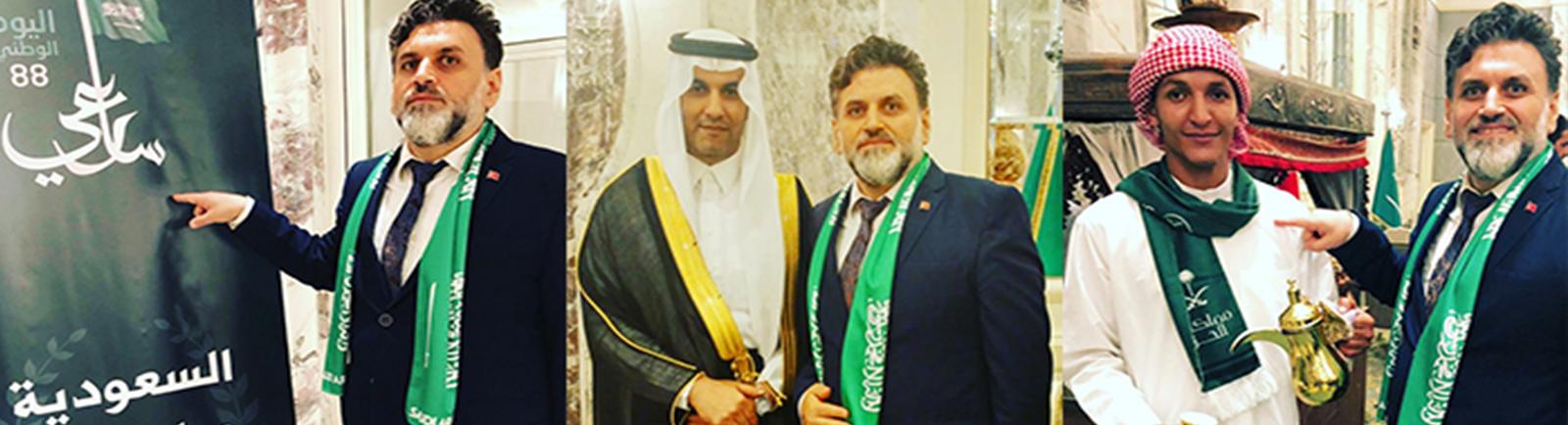 Suudi Arabistan'ın kuruluş Yıldönümü (Ulusal Gün) Kutlandı