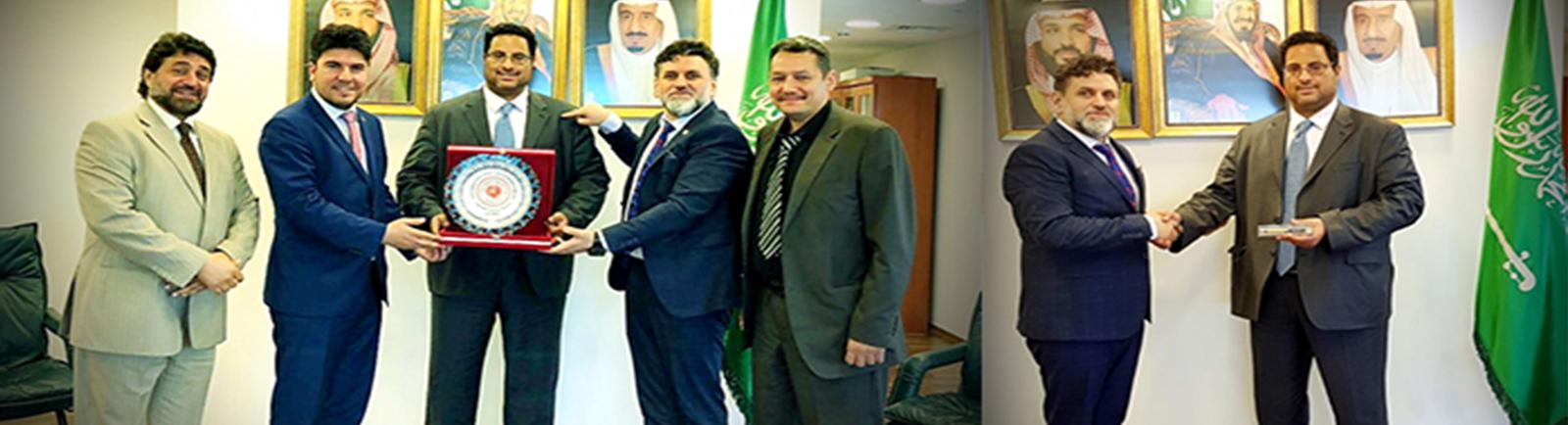 Suudi Arabistan Başkonsolosluğunda Toplantı