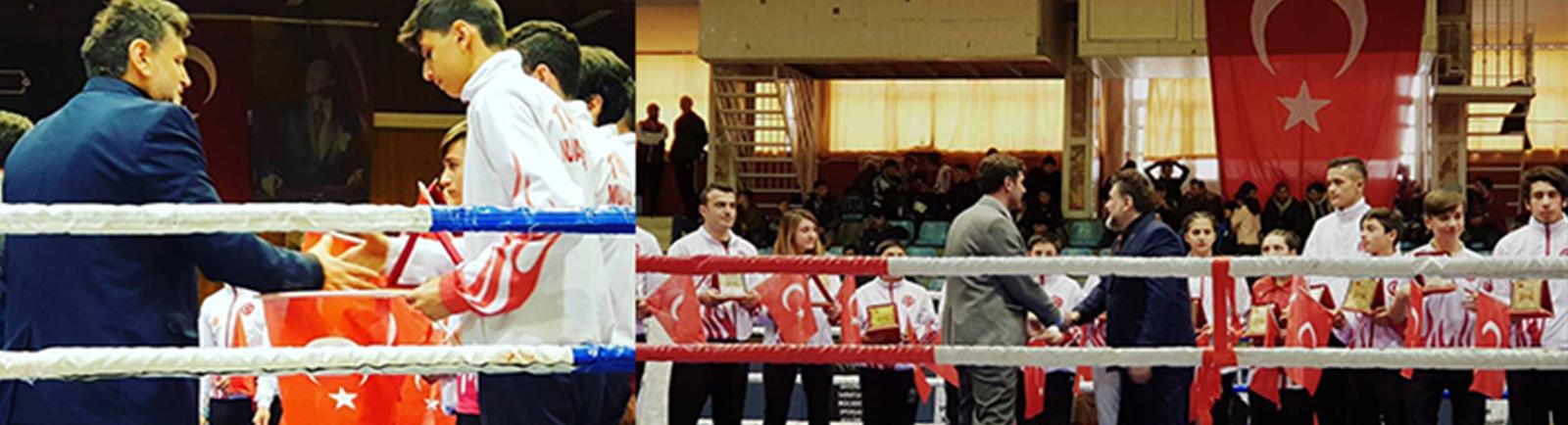 Muay Thai Şampiyon Ödüllerini BayKAMBER'den Aldı