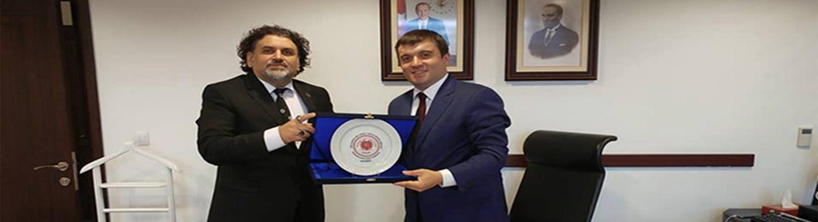 Marka Uzmanı BayKAMBER Dışişleri  Bakanlığı'nı Ziyaret Etti