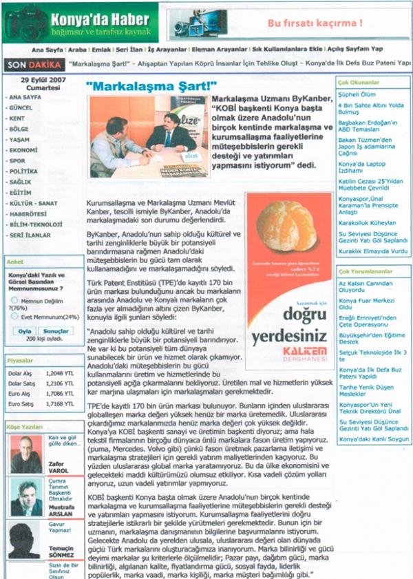 Markalize Gazeteler - 149