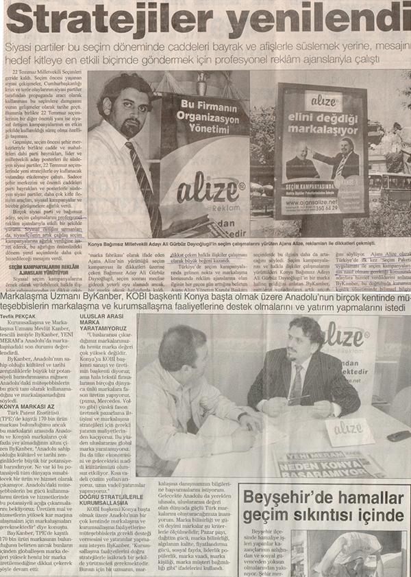 Markalize Gazeteler - 152