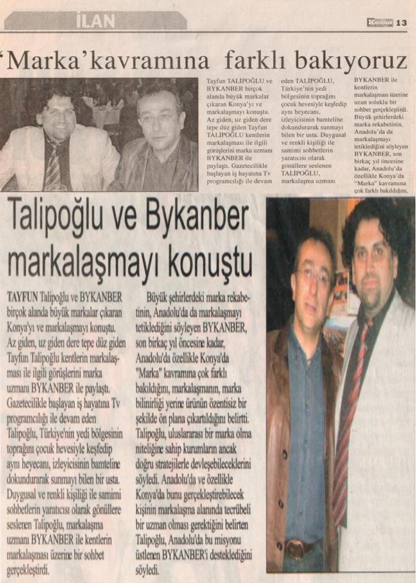 Markalize Gazeteler - 153