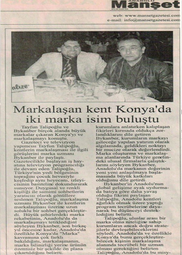 Markalize Gazeteler - 154