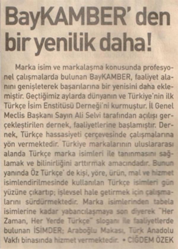 Markalize Gazeteler - 165