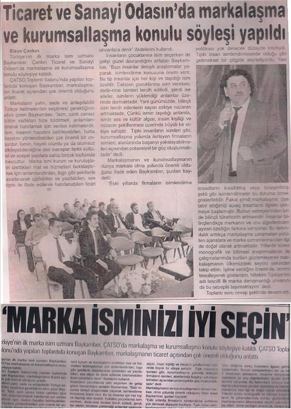 Markalize Gazeteler - 166