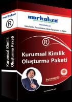 Markalize - Kurumsal Kimlik Kırmızı Paket