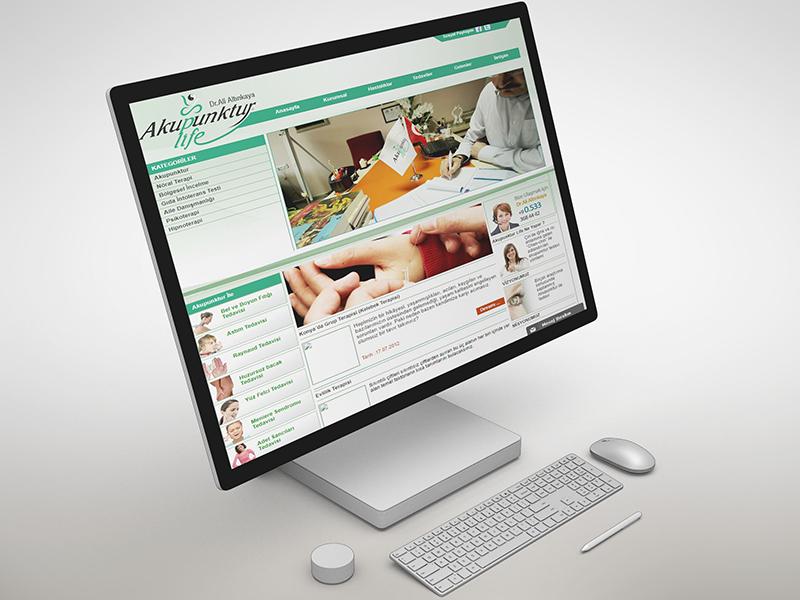 Akupunktur Life Web Tasarım
