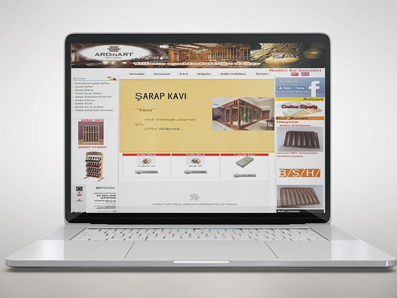 Ardinart Web Tasarım