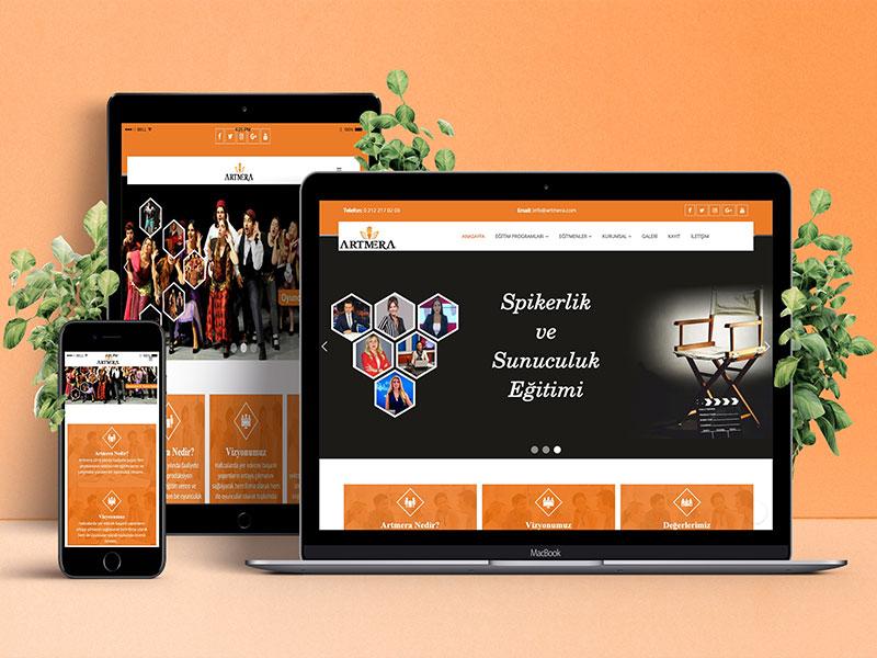 Artmera Web Tasarım