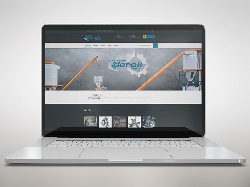 Dereli Makina Web Tasarım
