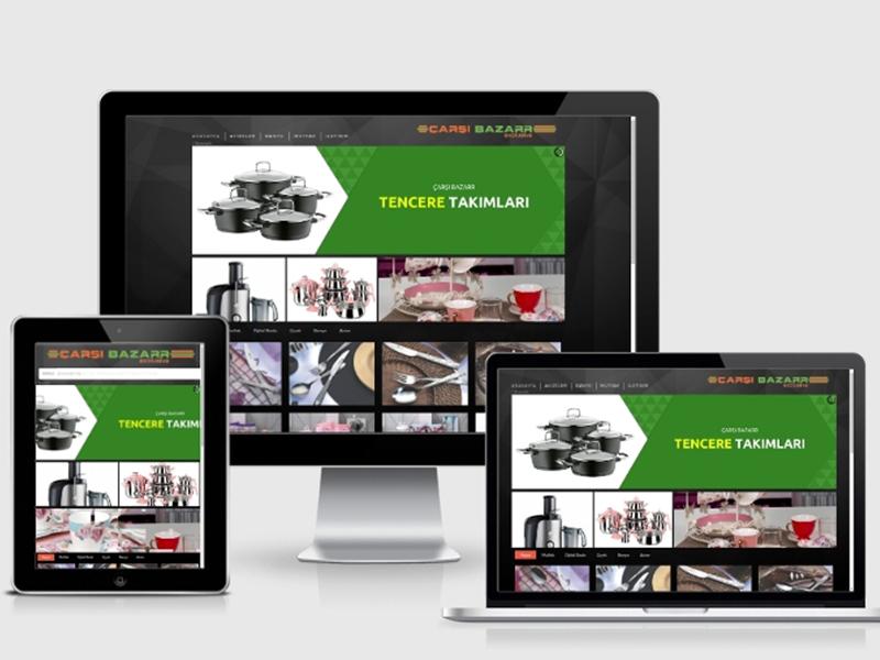 Çarşı Bazaar Web Tasarım