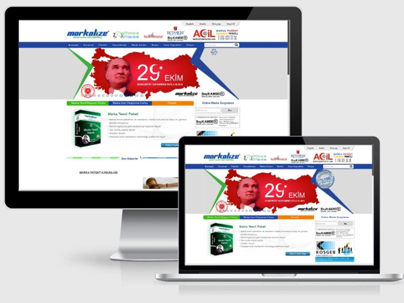 Markalize Web Tasarım