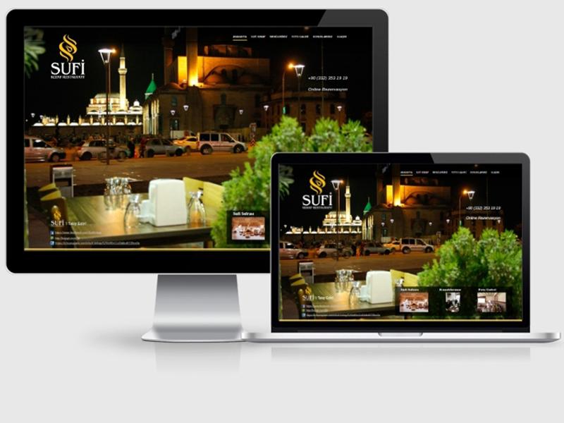 Sufi Kebap Web Tasarım