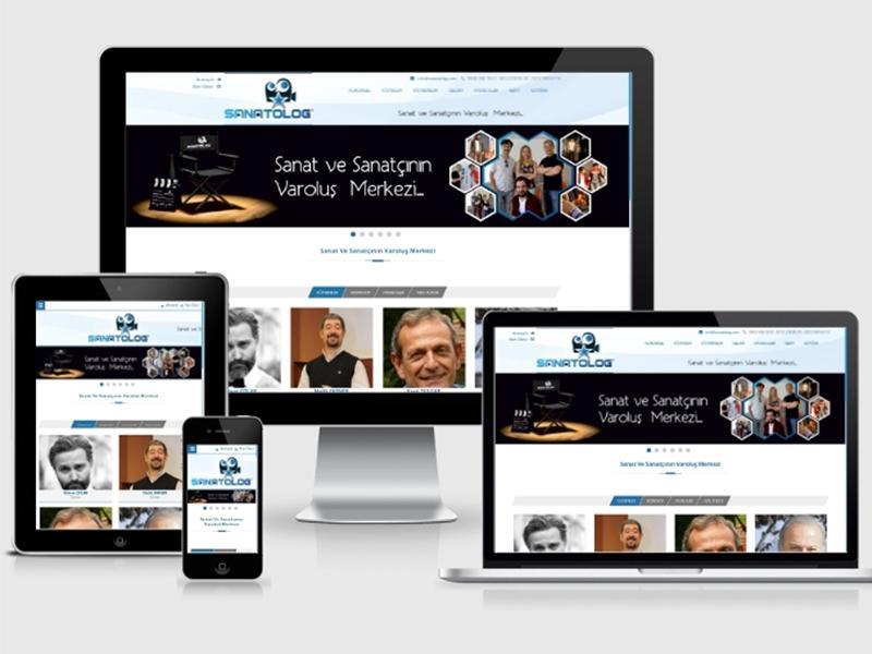 Sanatolog Web Tasarım