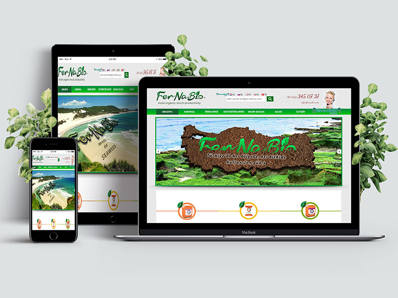 Fernabio Web Tasarım