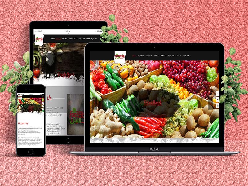 Foodelbeyk Web Tasarım