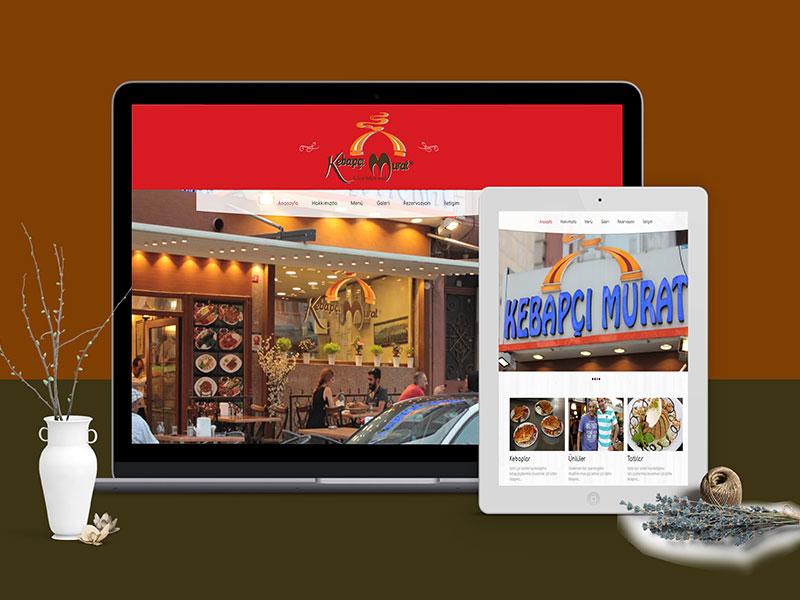 Kebapçı Murat Web Tasarım