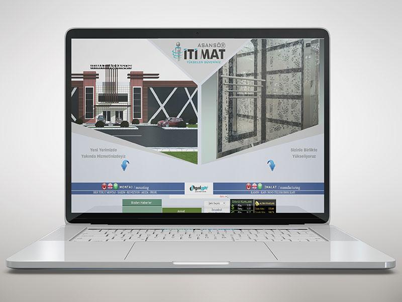 İtimat Asansör Web Tasarım