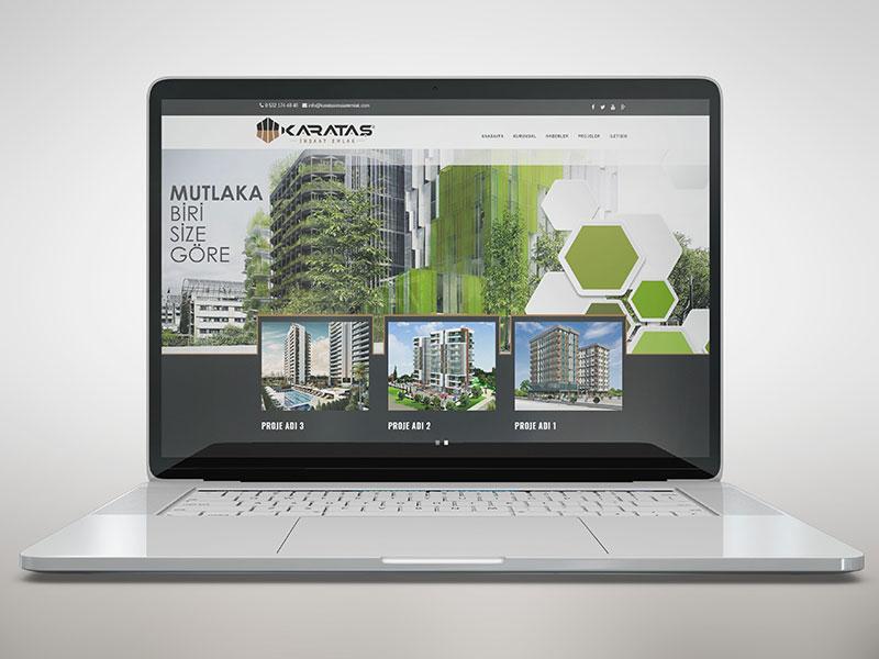 Karataş İnşaat Web Tasarım