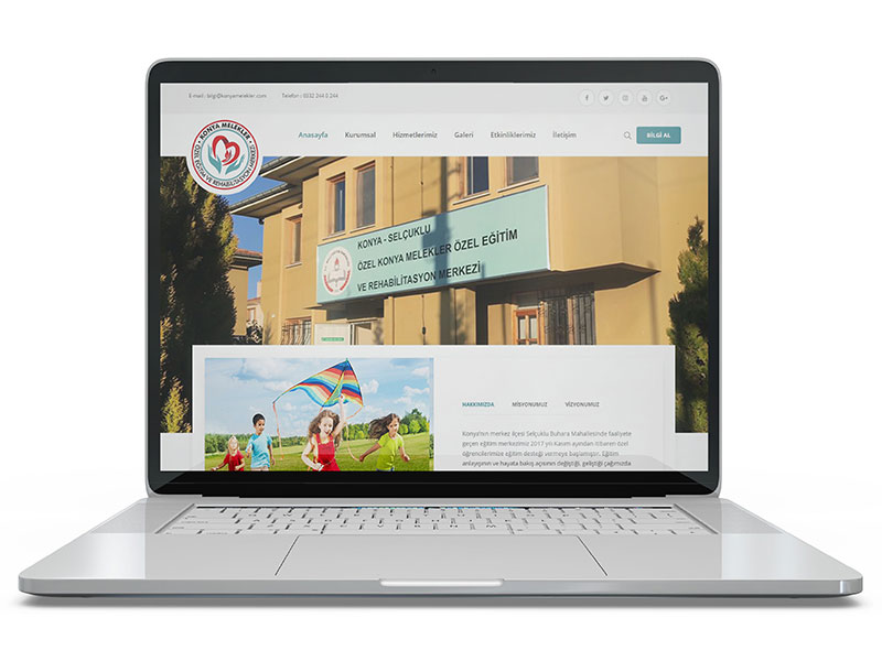 Konya Melekler Web Tasarım