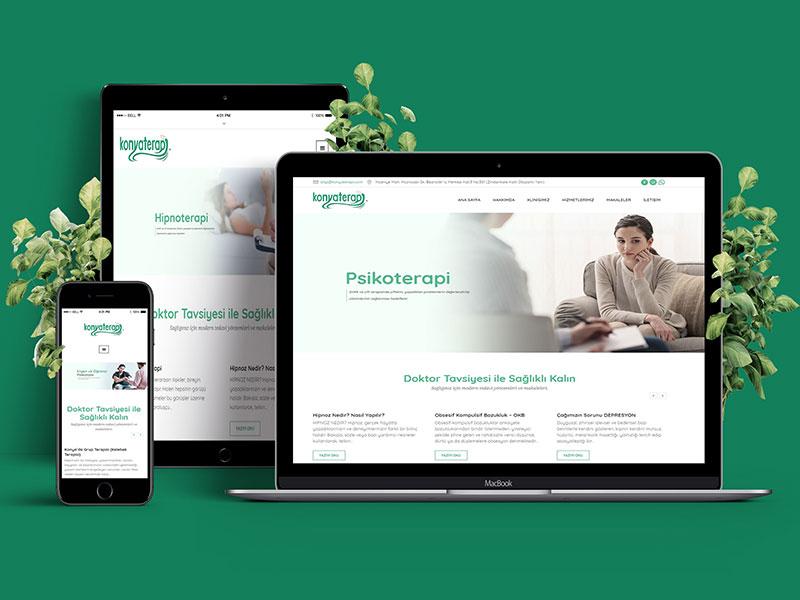 Konyaterapi Web Tasarım
