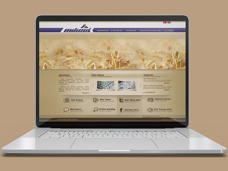 Milinox Web Tasarım