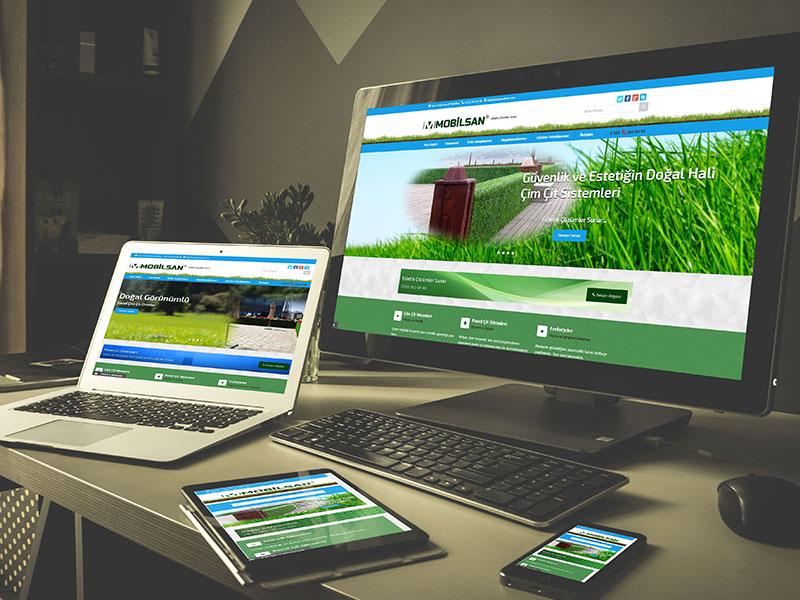 Mobilsan Web Tasarım