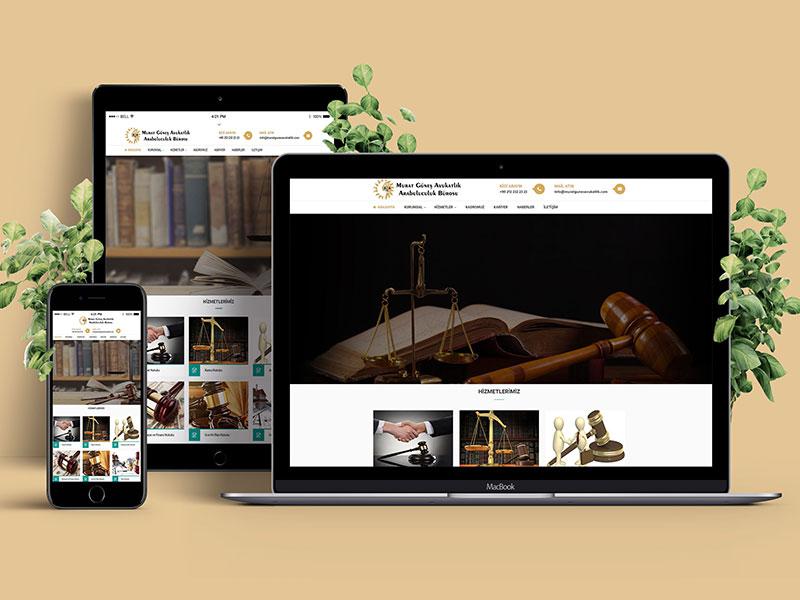 Murat Güneş Avukatlık Web Tasarım