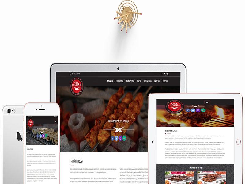 Özel Ciğerci Web Tasarım