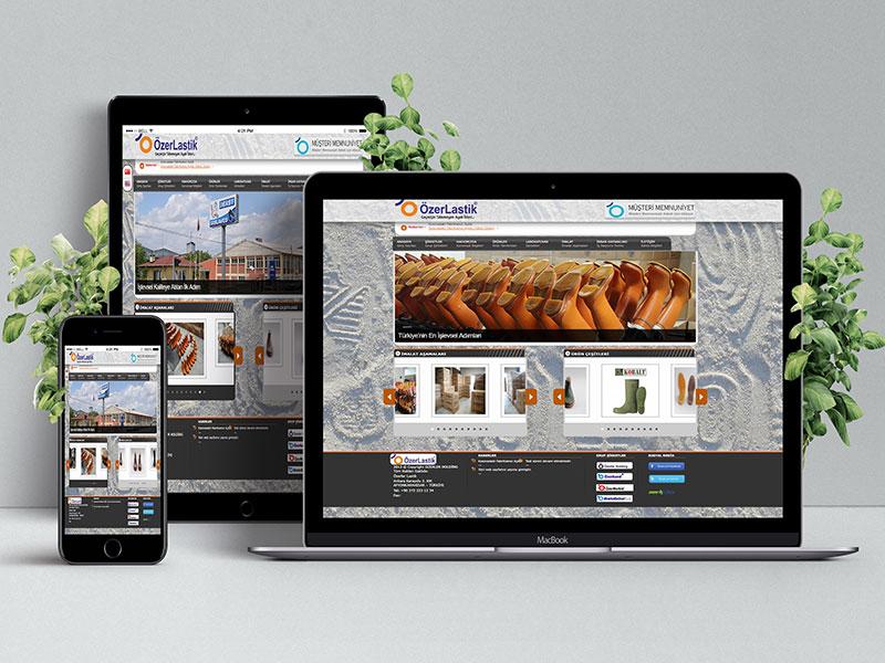 Özer Lastik Web Tasarım