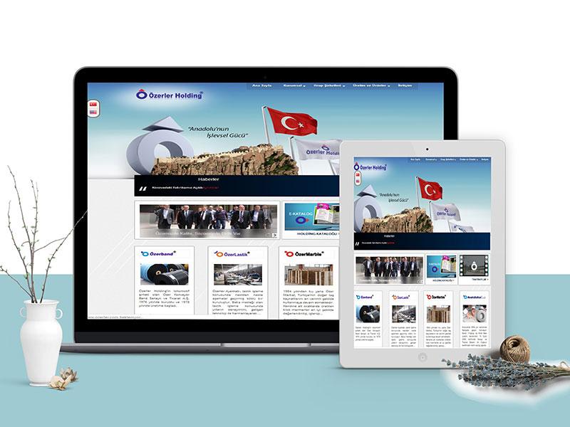 Özerler Holding Web Tasarım