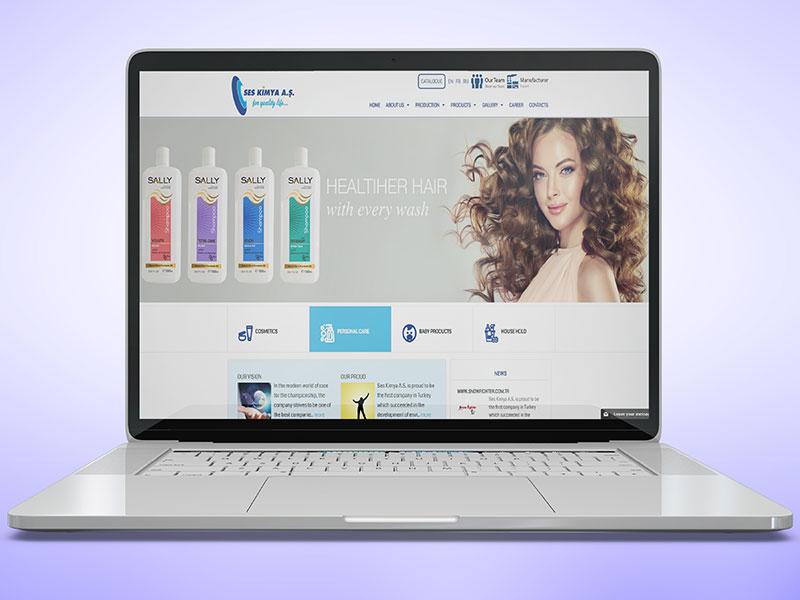 Ses Kimya Web Tasarım