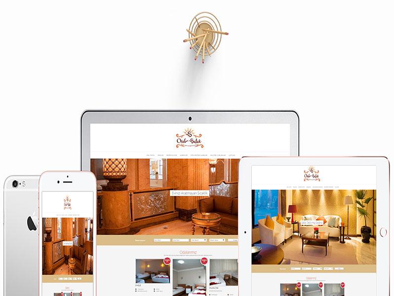 Şafak Otel Web Tasarım