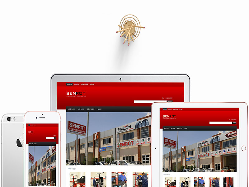 Şenrot Web Tasarım