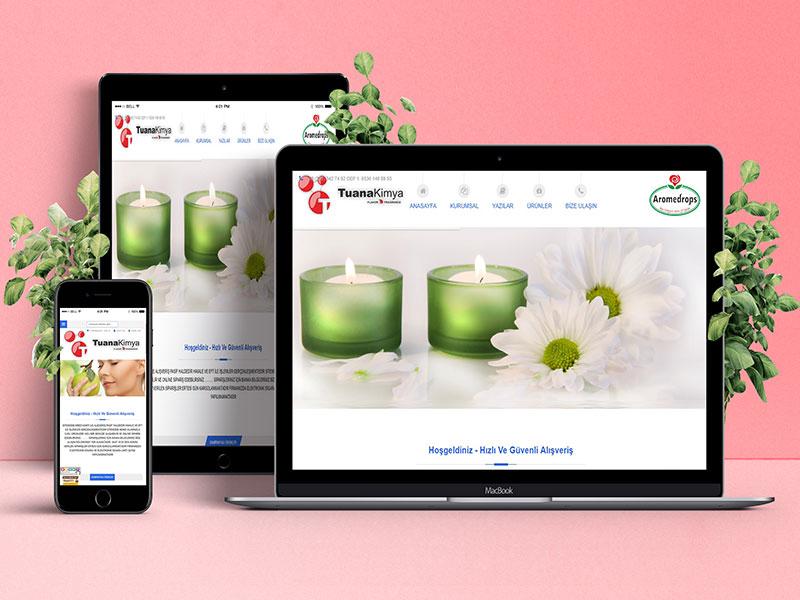 Tuana Kimya Web Tasarım