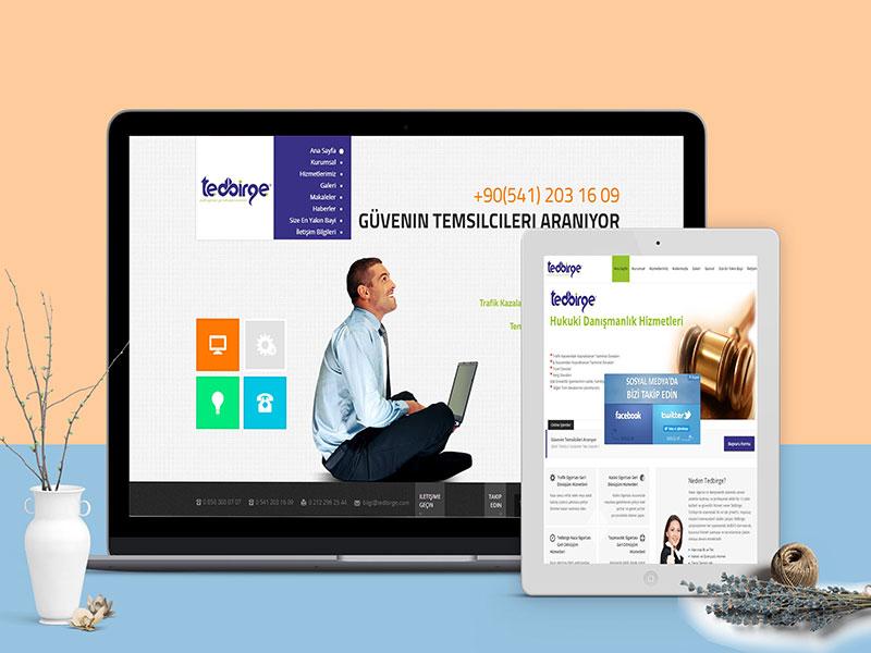 Tedbirge Web Tasarım