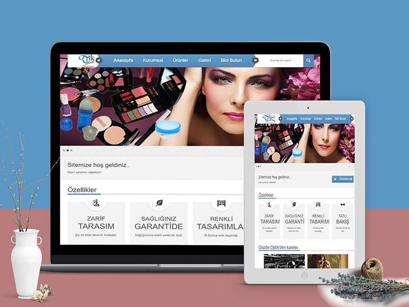 Tılsım Kozmetik Web Tasarım