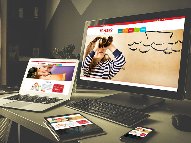 Toygens Web Tasarım